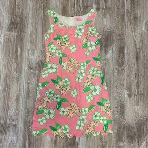 Lilly Pulitzer Nina dress pink Tootie 0 scallop